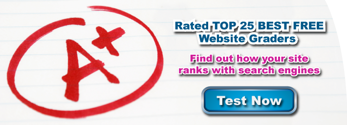 Try our Free Website Grader Tool